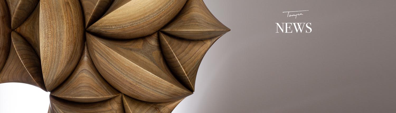 Exclusive wooden sculpture, exclusive design object